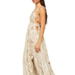 NWT Free People Meredith Maxi Dress (M)